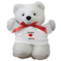 Jewish new year teddy bear